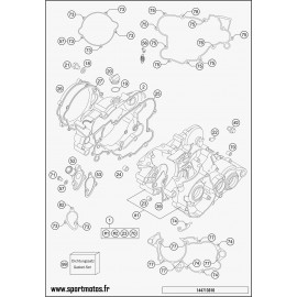 Carter moteur (Husqvarna TC 85 19 p 2015)