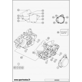 Carter moteur (Husqvarna TC 125 2015)