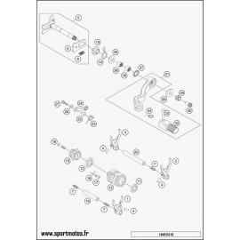 Mécanisme Chgt vitesse (Husqvarna TC 250 2015)
