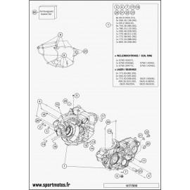 Carter moteur (Husqvarna FC 250 2015)