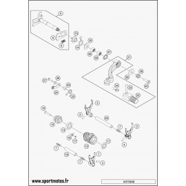 Mécanisme Chgt vitesse (Husqvarna FC 250 2015)