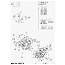 Carter moteur (Husqvarna FC 350 2015)