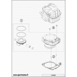 Cylindre (Husqvarna FC 450 2015)