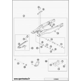 Bras oscillant (Husqvarna FS 450 2015)