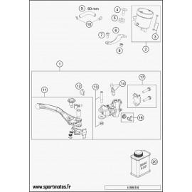 Cylindre de frein avant (Husqvarna FS 450 2015)