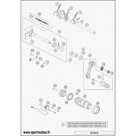 Mécanisme Chgt vitesse (Husqvarna SUPERMOTO 701 2016)
