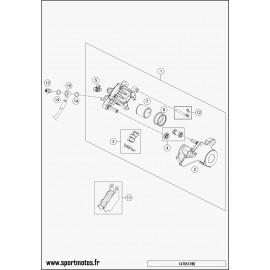 Etrier de frein arrière (Husqvarna ENDURO 701 2016)