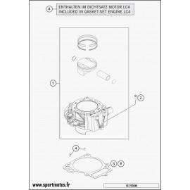 Cylindre (Husqvarna ENDURO 701 2016)