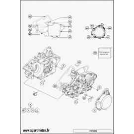 Carter moteur (Husqvarna TE 125 2014)
