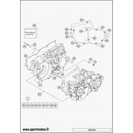 Carter moteur (Husqvarna TE 250 2014)
