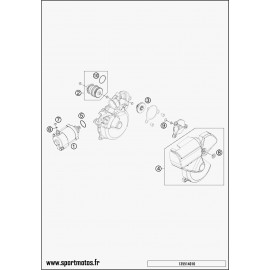Démarreur électrique (Husqvarna TE 250 2014)