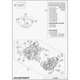 Carter moteur (Husqvarna FE 350 2016)
