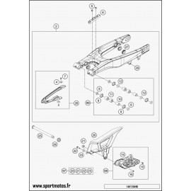 Bras oscillant (Husqvarna FE 250 2014)