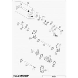 Mécanisme Chgt vitesse (Husqvarna FE 450 2014)