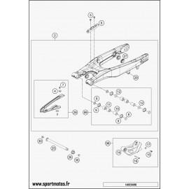 Bras oscillant (Husqvarna TC 125 2014)