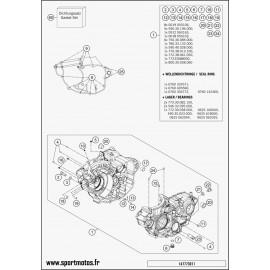 Carter moteur (Husqvarna FC 350 2014)
