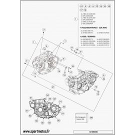 Carter moteur (Husqvarna FC 450 2014)