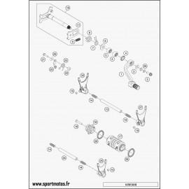 Mécanisme Chgt vitesse (Husqvarna FE 450 2016)