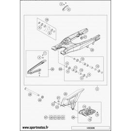 Bras oscillant (Husaberg TE 125 2014)