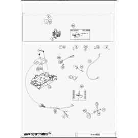 Cables, Faisceaux (Husaberg TE 125 2014)