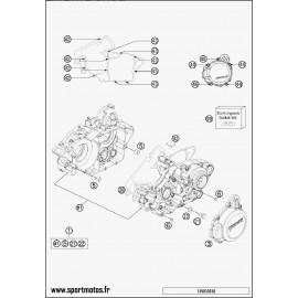 Carter moteur (Husaberg TE 125 2014)