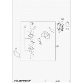 Boîte à clapets (Husaberg TE 125 2014)