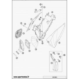 Filtre à air (Husaberg TE 250 2014)