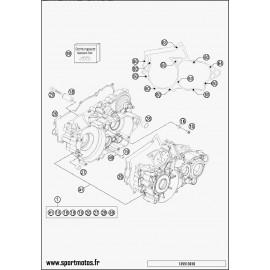 Carter moteur (Husaberg TE 250 2014)