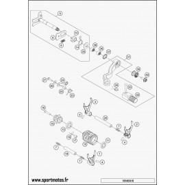 Mécanisme Chgt vitesse (Husqvarna TE 250 2016)