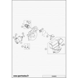 démarreur électrique (Husqvarna TE 250 2016)