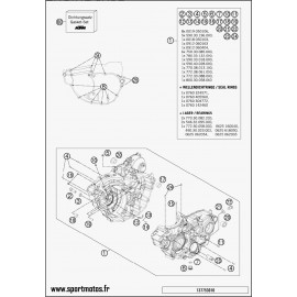 Carter moteur (Husaberg FE 250 2014)