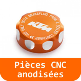 Pièces CNC anodisées - 65 SX