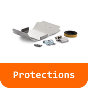 Protections - 790 Adventure-White