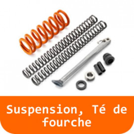 Suspension, Té de fourche - 125 DUKE-Orange