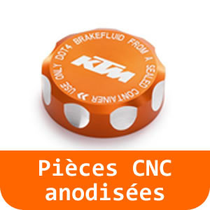 Pièces CNC anodisées - 790 DUKE-Orange