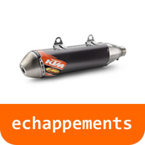 Echappements - 125 RC-Orange