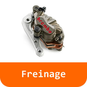 Freinage - 125 RC-Orange