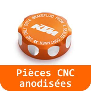 Pièces CNC anodisées - 125 RC-Orange