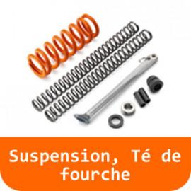 Suspension, Té de fourche - 125 RC-Orange