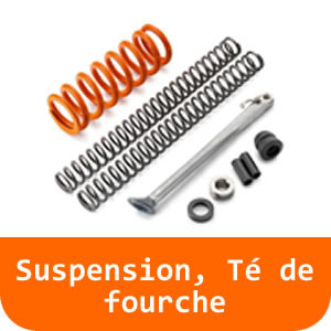 Suspension, Té de fourche - 125 RC-Orange
