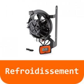Refroidissement - 125 RC-Orange