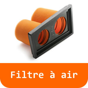 Filtre à air - 125 RC-Orange