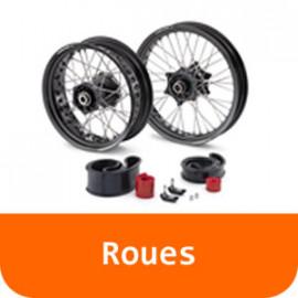 Roues - 125 RC-Orange