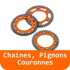 Chaines, Pignons & Couronnes - 390 RC-Black