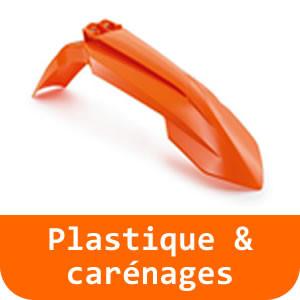 Pièces de carénage & autocollants - 790 DUKE-Orange