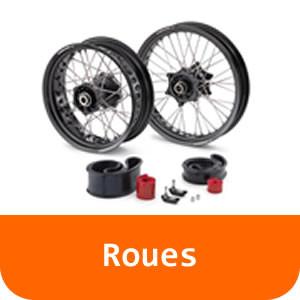 Roues - 390 DUKE-White